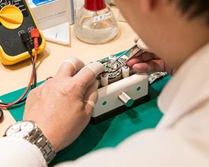 電池交換 安心の2年間(容量)保証