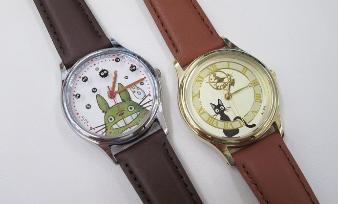 ジブリファンの方へオススメの腕時計♪