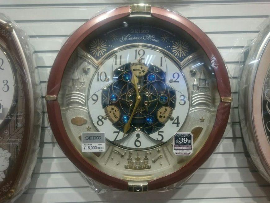 見てて楽しい、聞いて楽しい時計の紹介です!