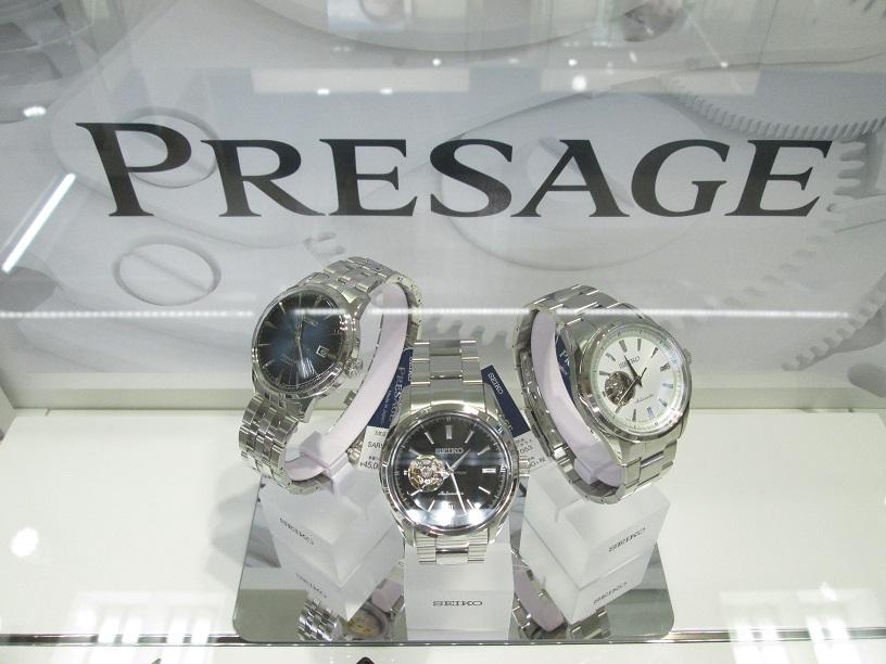 国産機械式時計・SEIKO PRESAGE