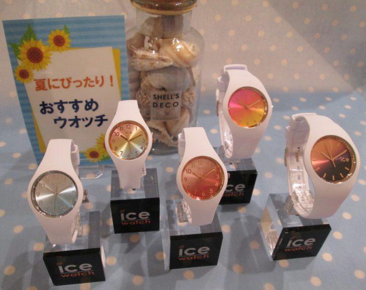 ice watch sunsetシリーズ
