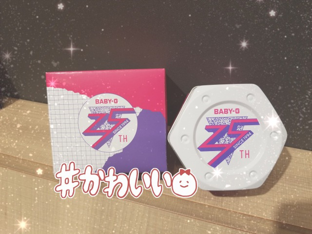 ♡BABY-G 25周年記念モデル♡
