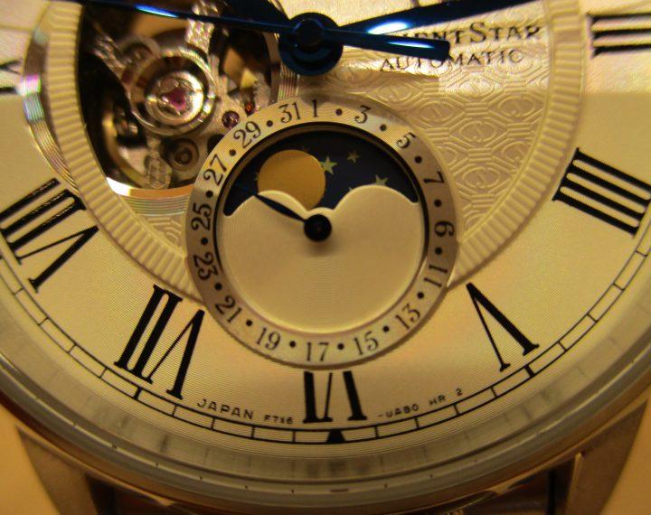 オリエントスター・メカニカル月例表示時計 RK-AM0005S