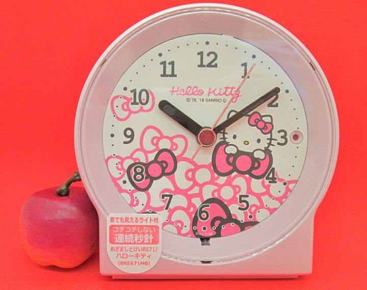 キティちゃんの目覚まし時計