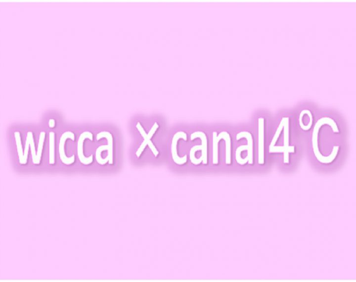 wicca×canal4℃モデル入荷しました!