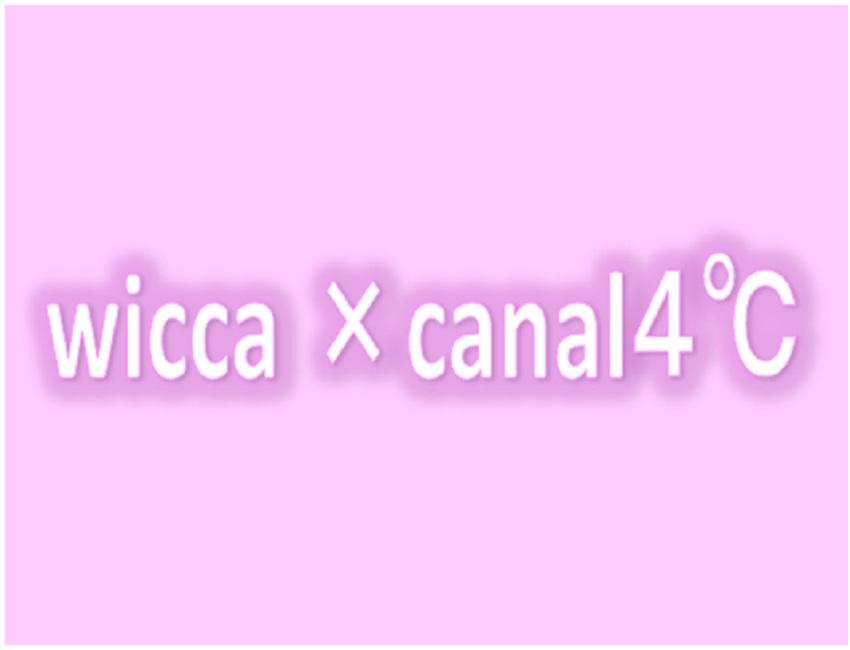wicca×canal4℃モデル入荷しました!