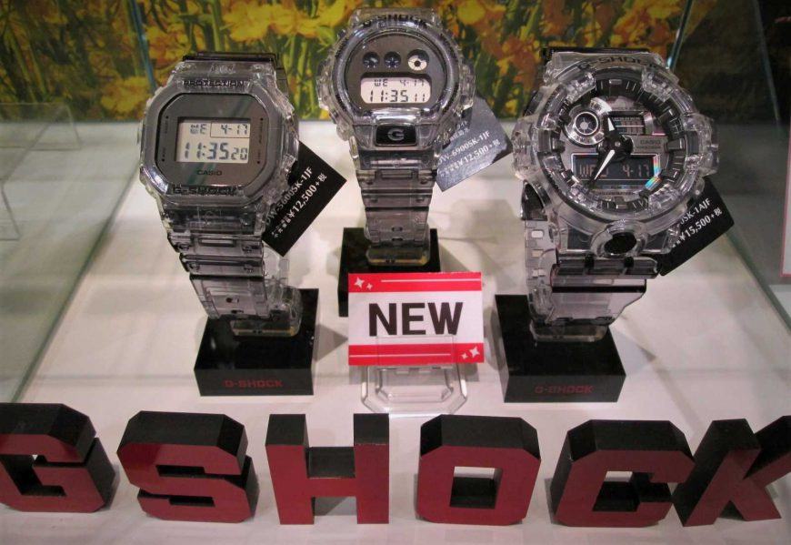 G-SHOCK 『Clear Skeleton』デビュー!!
