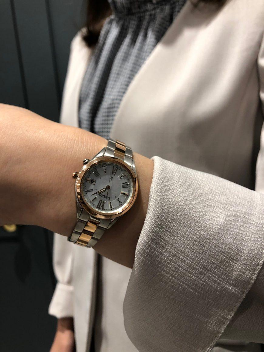 WATCH × FASHION~あのお店の店員さんが時計を選んだら~【a.v.v × LUKIA】