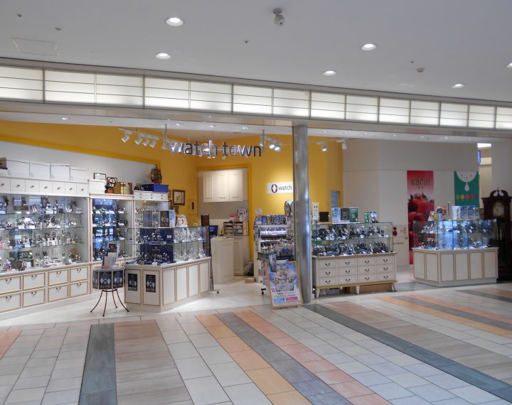 ウオッチタウン小田原ダイナシティ店はここです^^