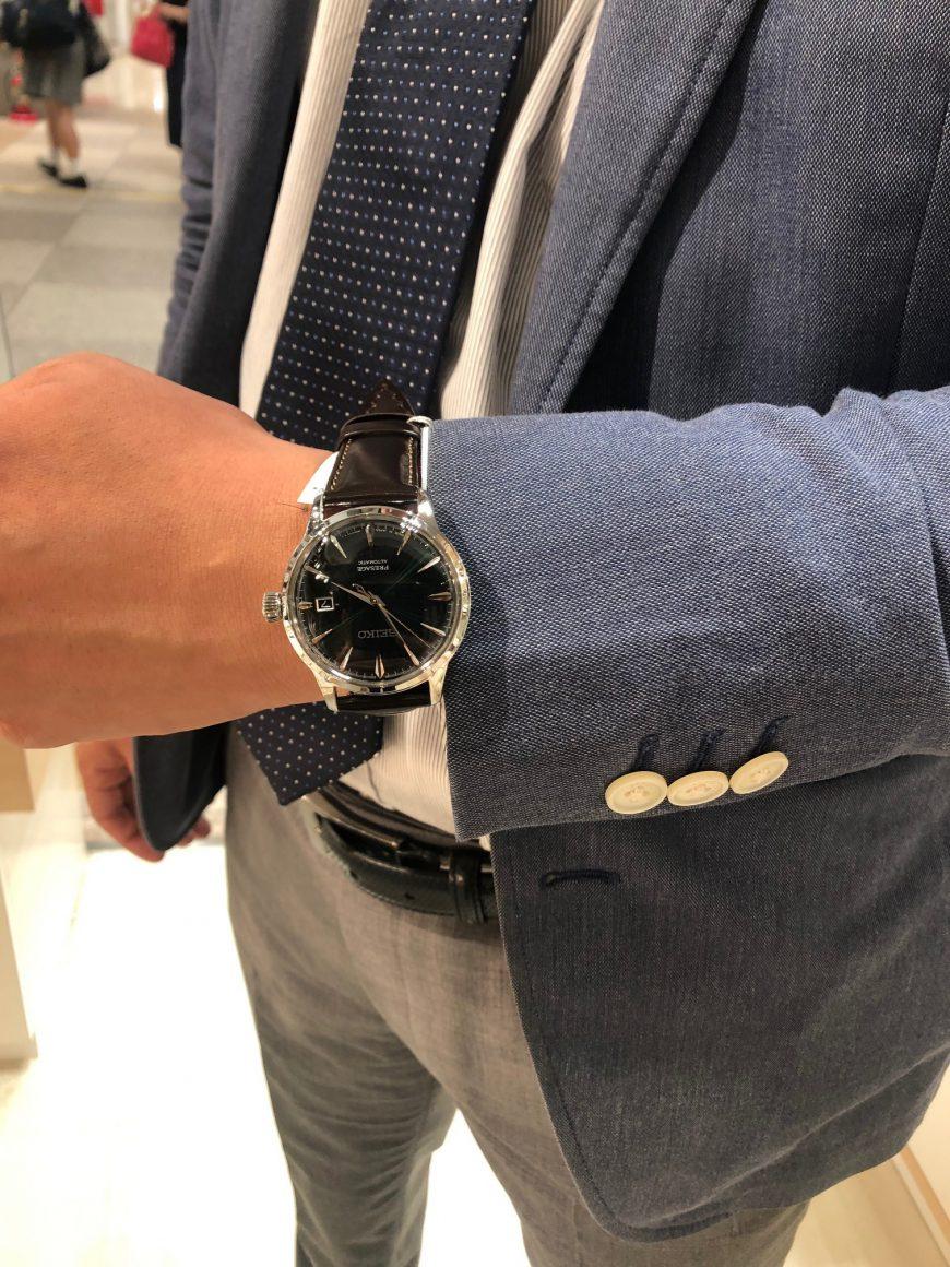 【青葉台店】WATCH × FASHION~あのお店の店員さんが時計を選んだら~【オグラ眼鏡店×PRESAGE】