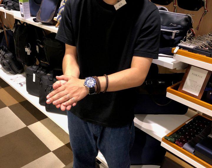 【青葉台店限定】WATCH × FASHION~あのお店の店員さんが時計を選んだら~【コレクターズ×PROSPEX】