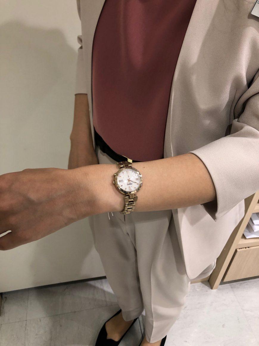 【青葉台店限定】WATCH × FASHION~あのお店の店員さんが時計を選んだら~【オリヒカ×LUKIA】