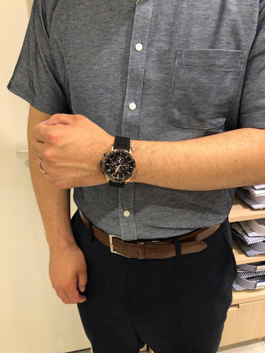 【青葉台店限定】WATCH × FASHION~あのお店の店員さんが時計を選んだら~【オリヒカ×ASTRON】