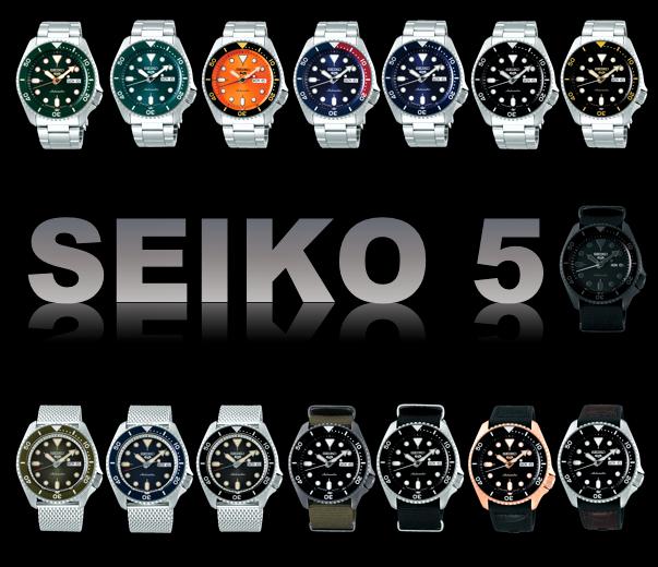 SEIKO5 新登場 15種類