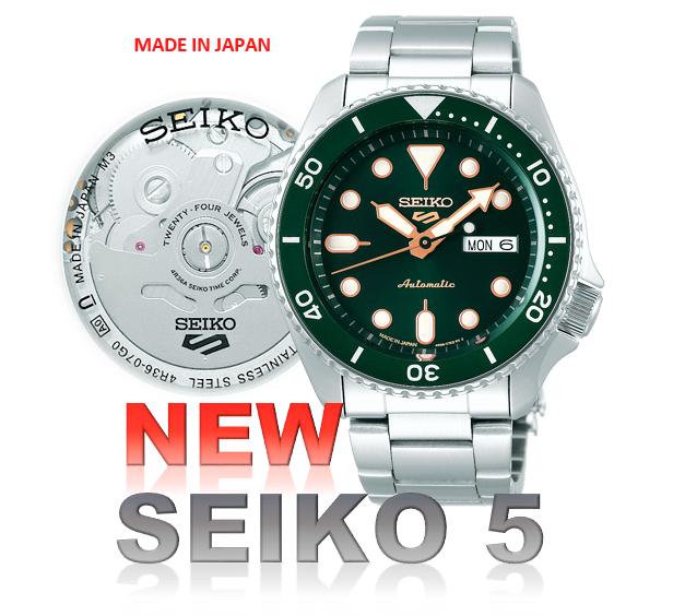 SEIKO5 AUTO 自動巻き SBSA013