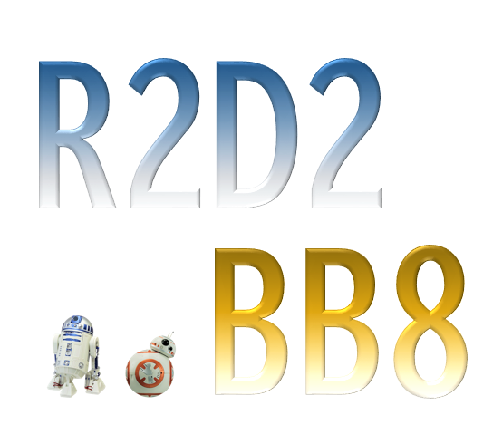 STAR WARS R2D2 BB8 アラームクロック