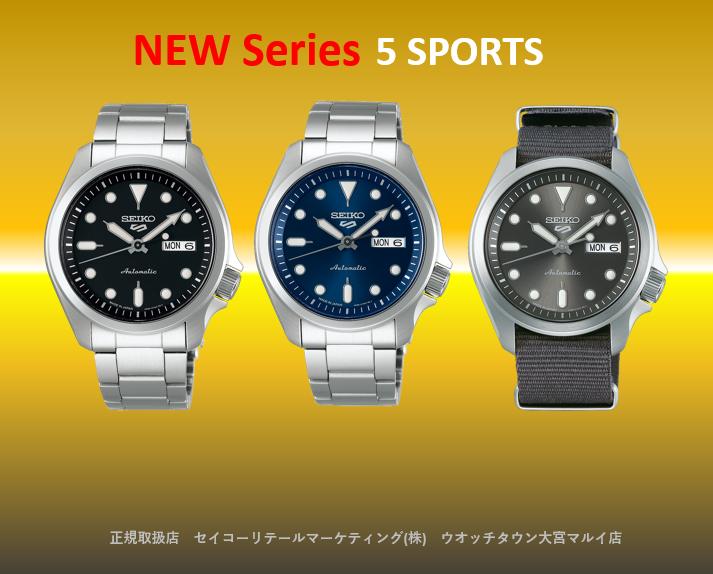 5 Sports NEW SEIKO5