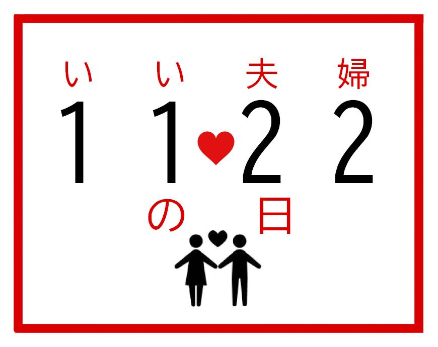 いい夫婦の記念日に!