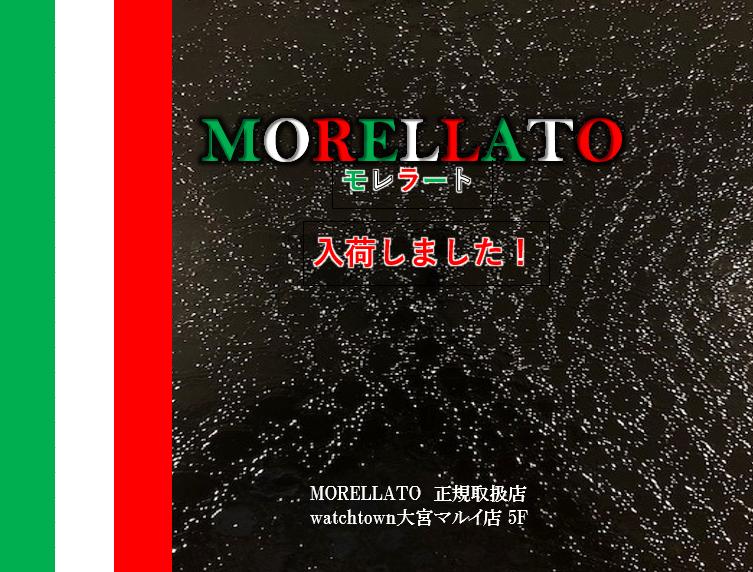 MORELLATO モレラート ベルト入荷