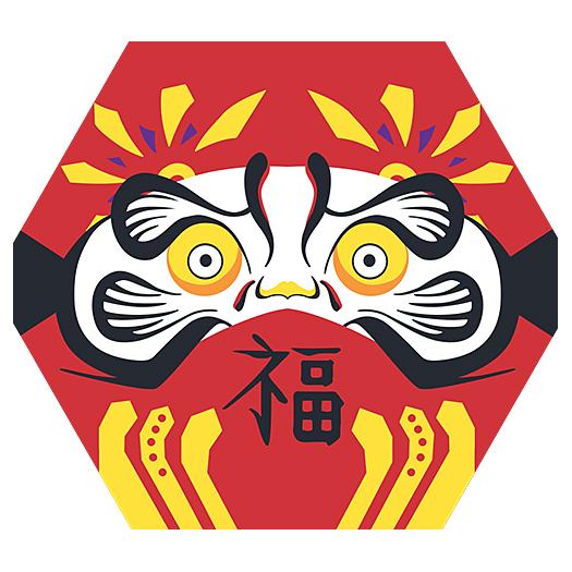 12月G-SHOCK、達磨(ダルマ)