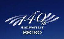 SEIKO140周年限定モデル入荷!
