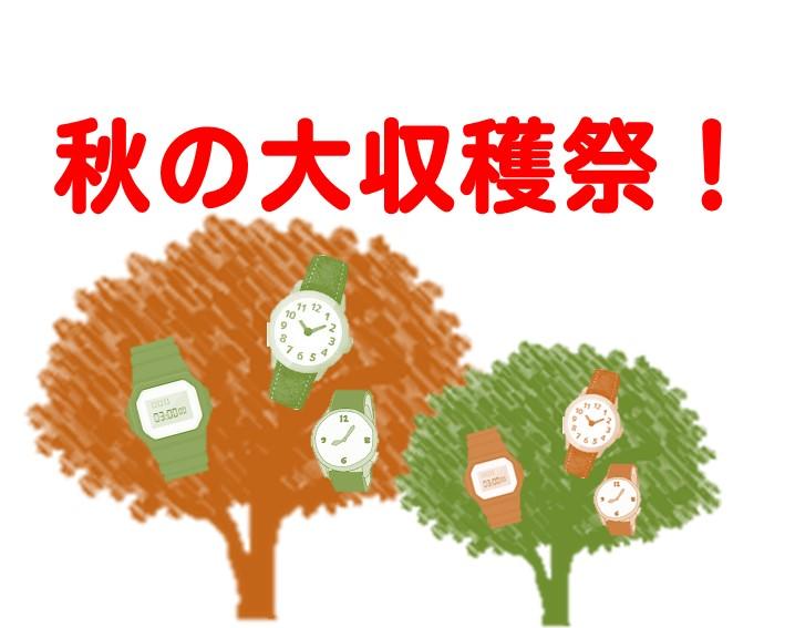 秋の大収穫祭!